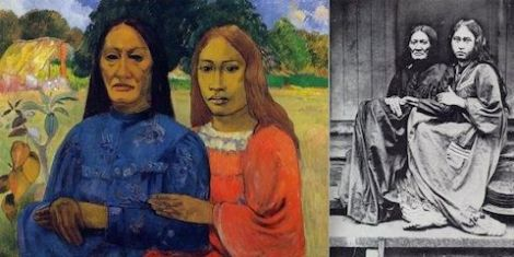 Gauguin - Due donne