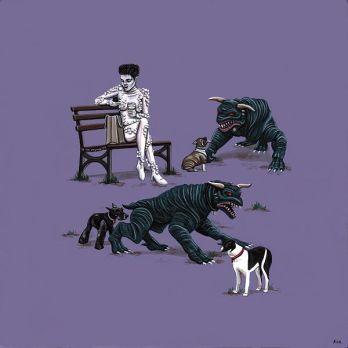 Gozer porta i cani al parco