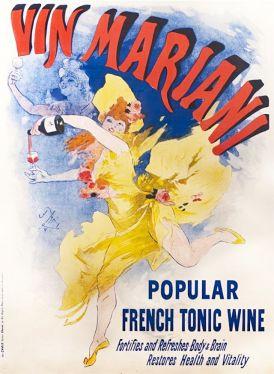 Vin Mariani il vino con foglie di coca
